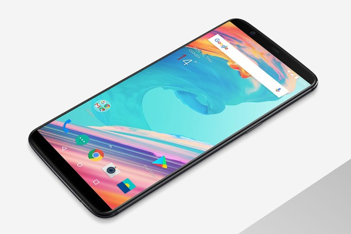 water resistance OnePlus 5T Android smartphone OxygenOS