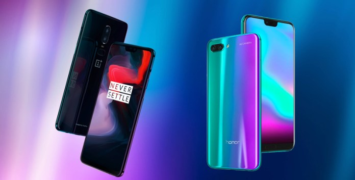 Poll: Which do you prefer, OnePlus 6 or Huawei Honor 10?