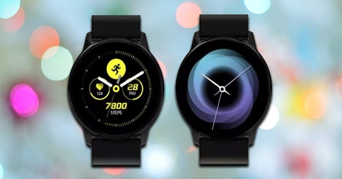 Samsung Galaxy Active: Renders show smartwatch with One UI