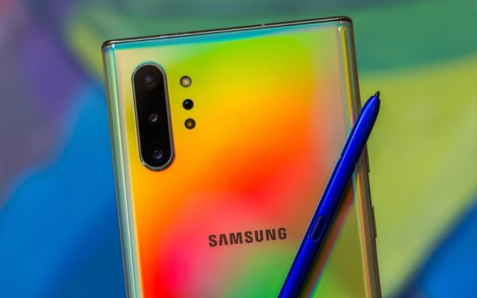 Samsung Galaxy Note 10 is already receiving the stable version of Android 10!