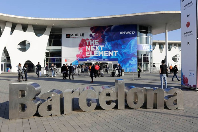 LG Android Samsung Galaxy S9 LG Huawei MWC 2018