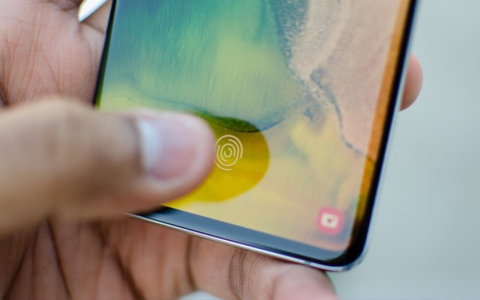 Samsung wants to combine fingerprint reader with PIN code, patent reveals