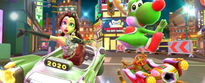 So you can try the multiplayer mode of Mario Kart Tour