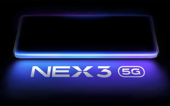 Vivo NEX 3 5G has several specifications confirmed in new leak