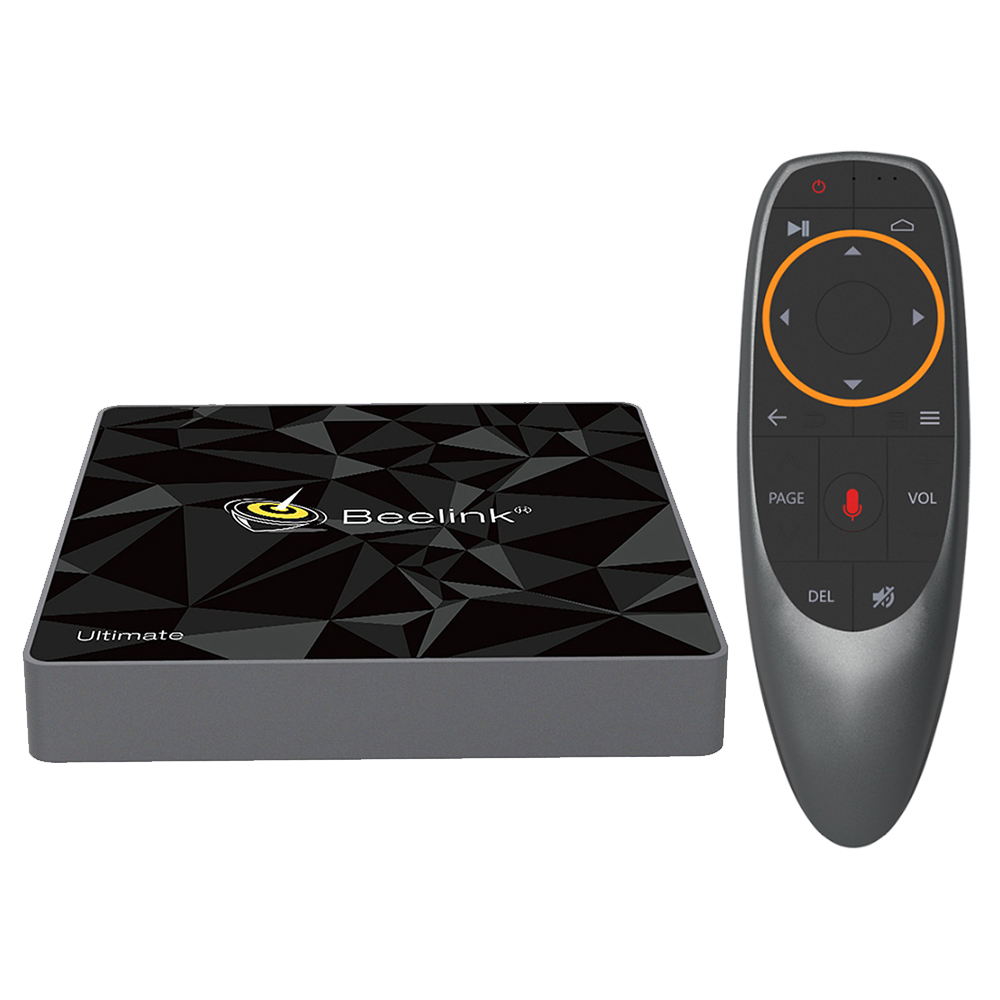 Beelink GT1-A Amlogic S912 Android TV OS 3GB/32GB with Voice Remote Youtube 4K Streaming Widevine L1 HDCP Compliant