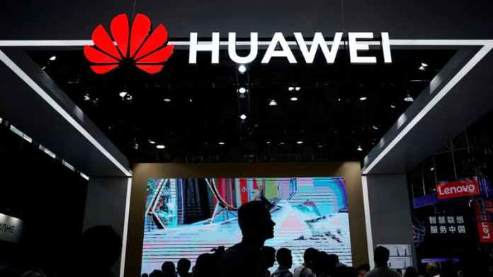 Huawei caught in the act of using iPhone for Twitter