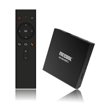 Mecool KM9 Pro Amlogic S905X2 Google Certificated 2GB RAM 16GB ROM bluetooth 4.0 Android 9.0 4K TV Box Support Voice Control Google Home