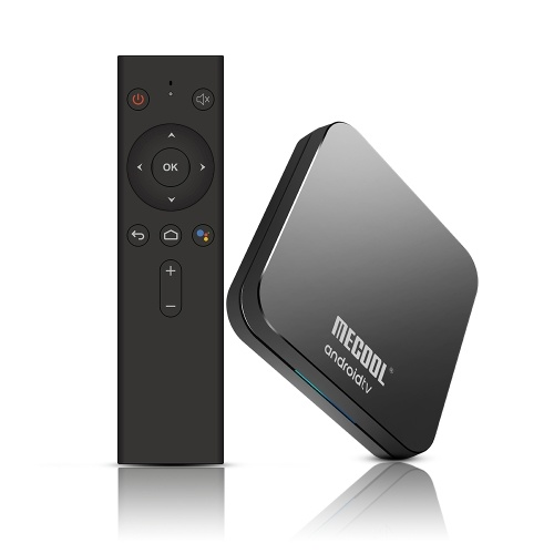 MECOOL KM9 Pro Smart Android 9.0 TV Box Media Player Amlogic S905X2 4GB+32GB Dual Wifi Bluetooth 4.0 Voice Remote Control Miracast Airplay