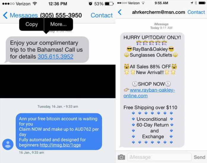 Spam Text