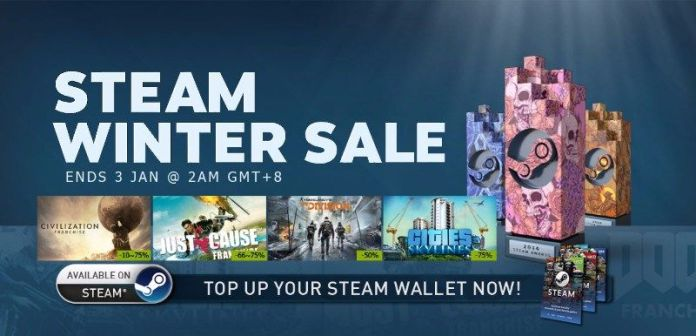 Steam Winter Sales usually has great Triple A titles on sale!