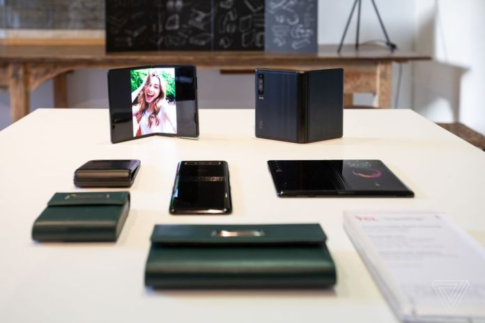 Is this the future of folding smartphones? TCL thinks so