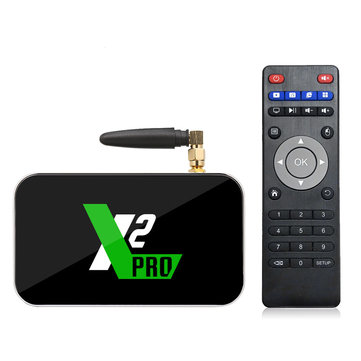 X2 Pro Amlogic S905X2 4GB DDR4 RAM 32GB ROM 1000M LAN 5G WIFI 4K Android 9.0 USB3.0 TV Box for Ugoos TV Box