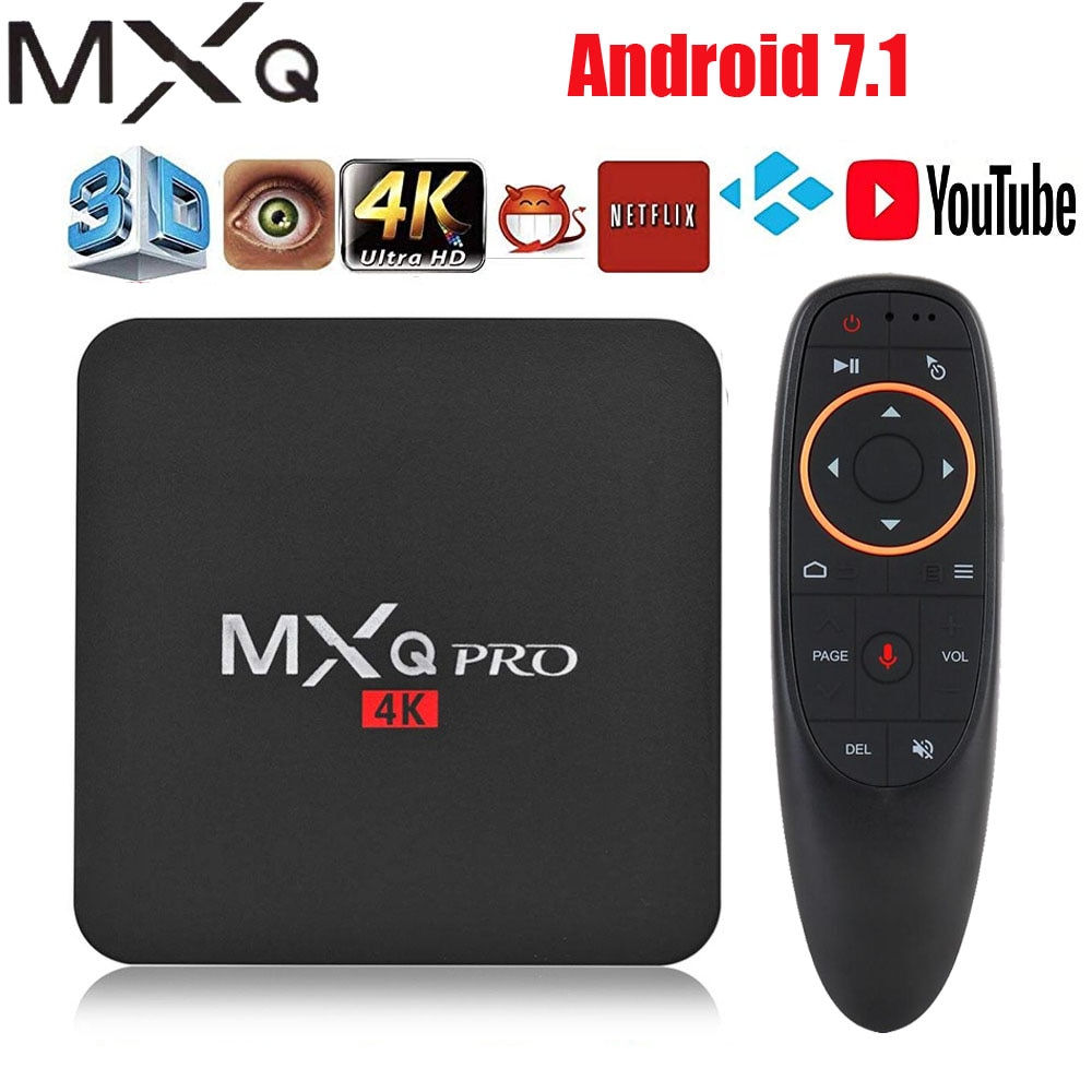 Android tv box MXQ pro 4K Android 7.1 HD 3D 2.4G WiFi S905W Quad Core Media Player smart tv android tv box can Subscribe IP TV on AliExpress