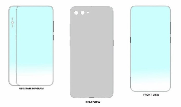 Xiaomi files a patent for a smartphone with dual screen on the side