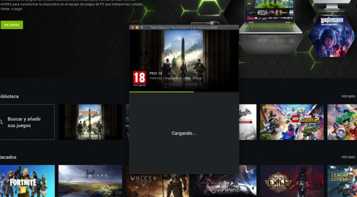 The Division 2 GeForce Now