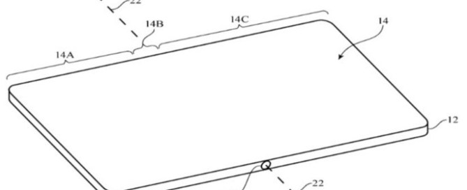 Apple iPad foldable patent