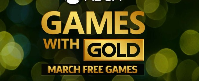 Xbox Games with Gold: meet the free games available in March