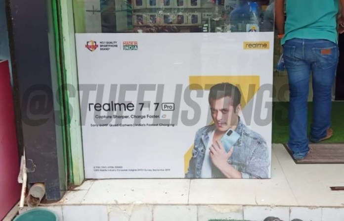 Realme 7 Pro official poster