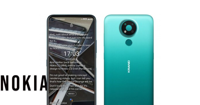 Nokia 3.4 is revealed in allegedly official image