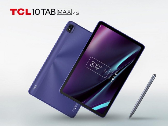 TCL 10 Tab Max tablet in blue