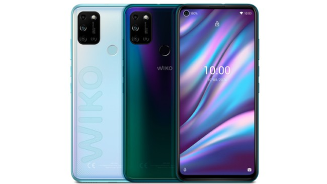 Wiko View5 Plus mobile phone in various colors