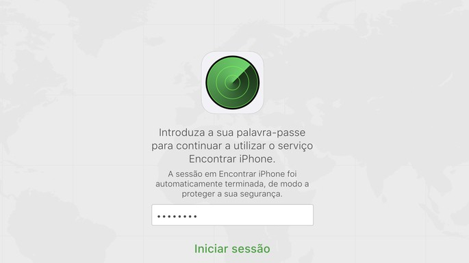 Find iPhone through iCloud