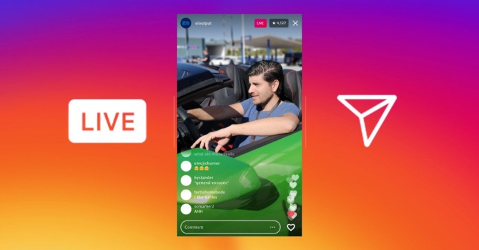 Making money with Instagram live is getting closer and closer