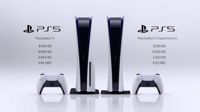 PlayStation 5 prices