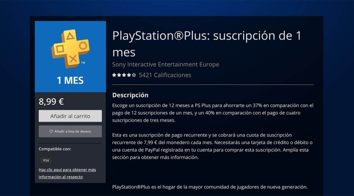 PlayStation Plus price