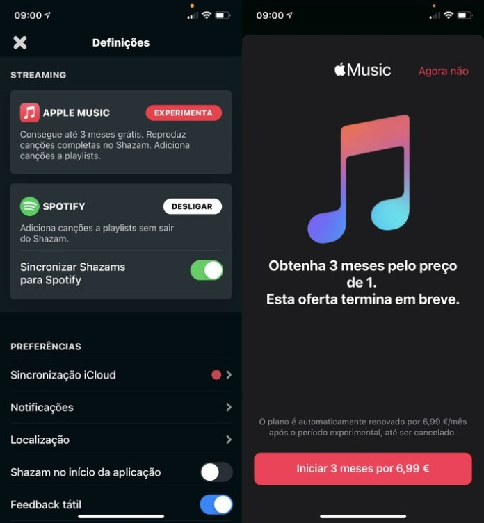 Free Apple Music 3 months for new users on iPhone / iPad