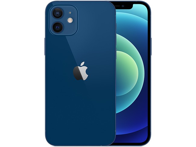 Apple iPhone 12 in blue