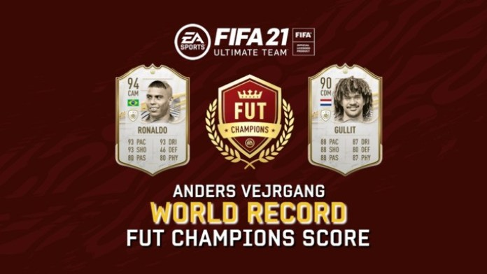 FIFA 21 Ultimate Team world record