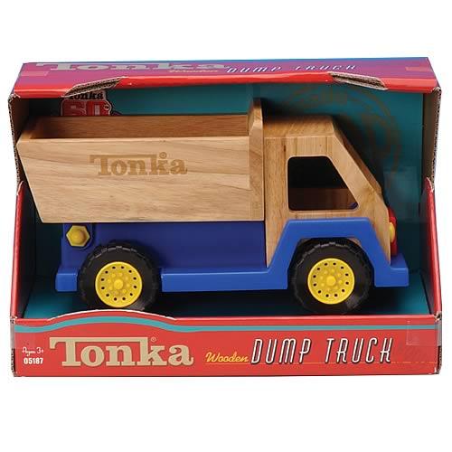 Tonka Wooden Dump Truck - Funrise - Tonka - Vehicles at Entertainment ...