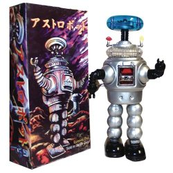 Lost in Space Robot Silver Tin Wind-Up Toy