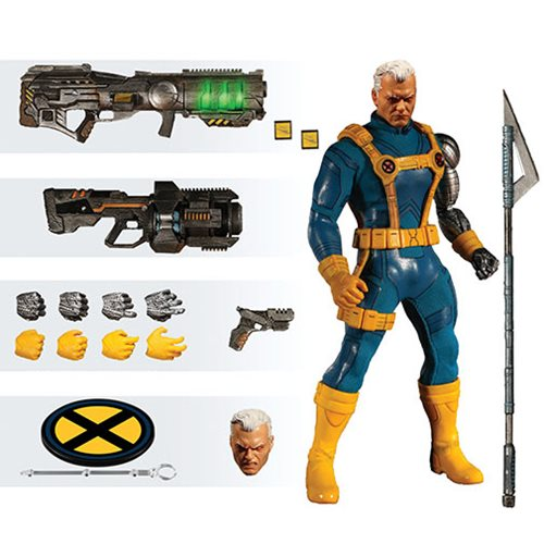 X-Men Cable 1990s Costume One:12 Collective Figure - PX