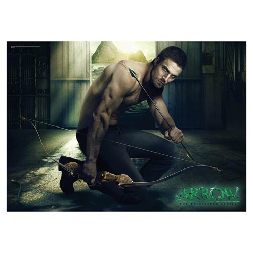 Get Your Oliver Queen MightyPrint Wall Art from Entertainment Earth!