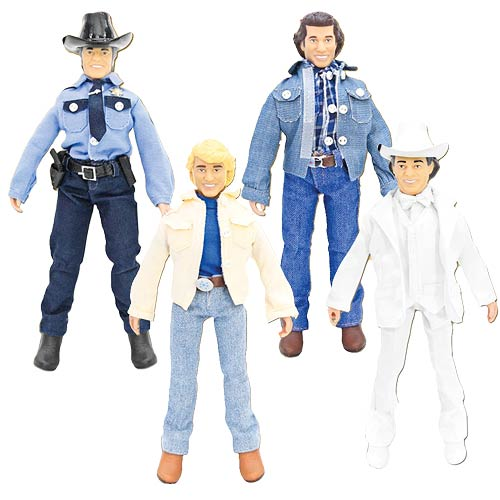 Dukes of Hazzard 8-Inch Series 1 Action Figure Set