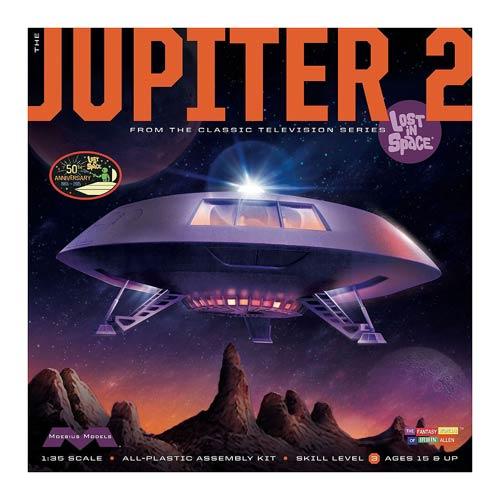 Lost in Space Jupiter 2 Model Kit
