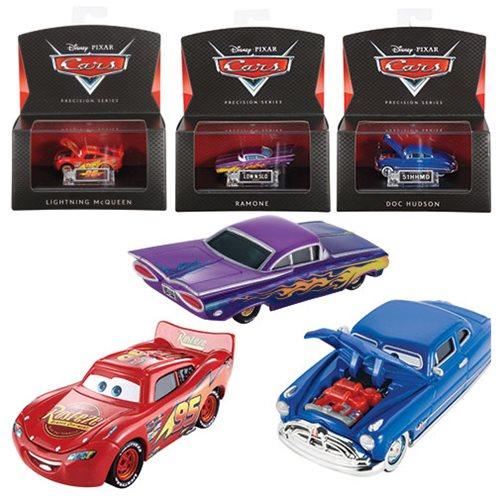 Cars Precision Series Die-Cast Metal 1:55 Vehicles Set