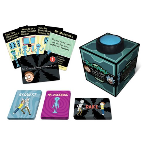 Rick And Morty Mr Meeseeks Dice Dares Game Cryptozoic