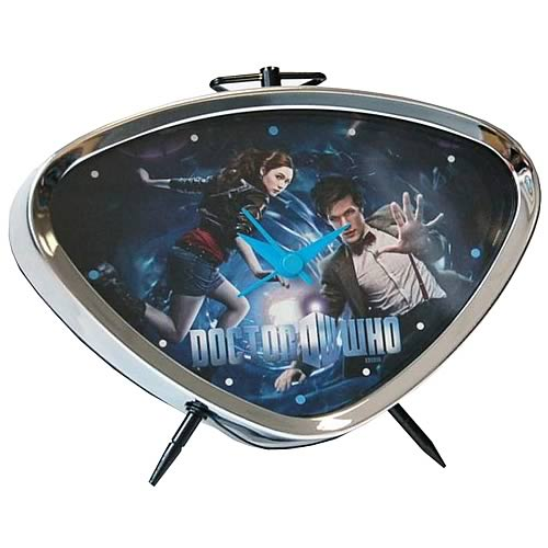 Doctor Who Matt Smith and Amy Pond Alarm Clock