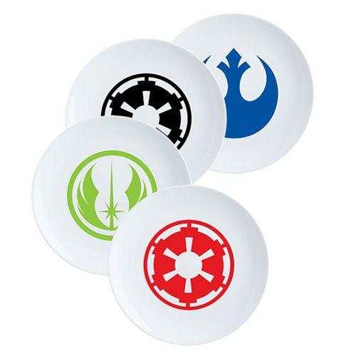 Star Wars 8-Inch Ceramic Salad Plate 4-Pack