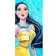 Pocahontas Colors of the Wind Disney Canvas Giclee Print