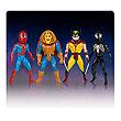 Marvel Secret Wars Micro Bobble Heads Series 1 Set