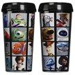 Pixar Faces Grid 16 oz. Plastic Travel Mug
