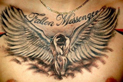 Fallen Messenger Tattoo