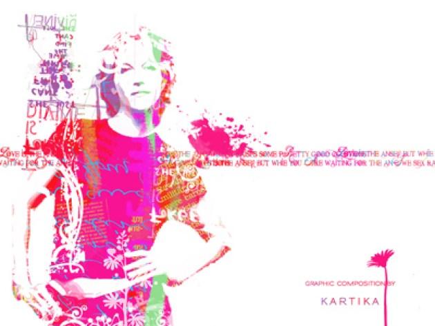 Woman Texture Romantic