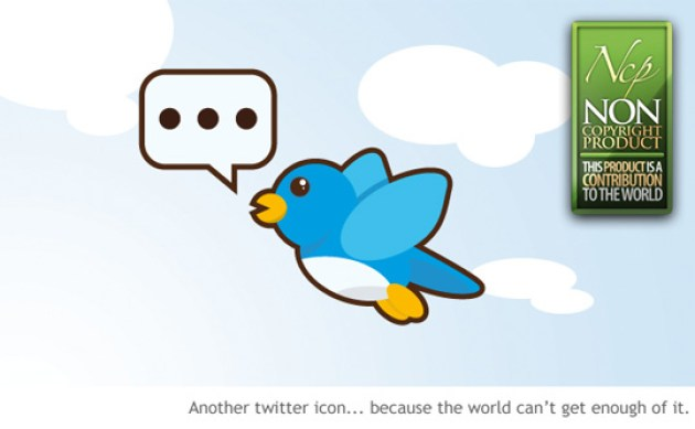 12 Twitter Icon Set