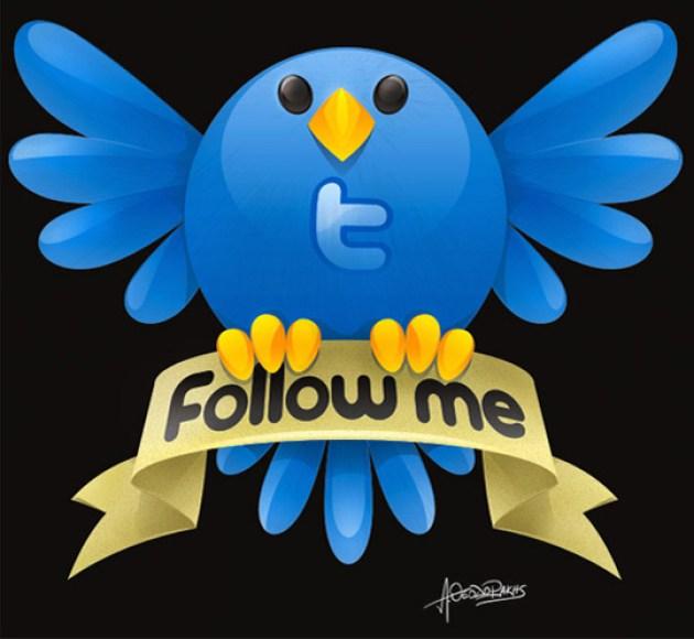 14 Twitter Icon Set