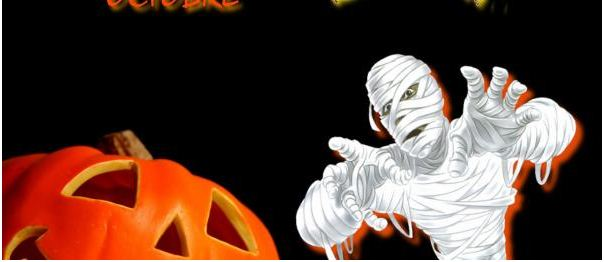 Scary Halloween Night Facebook Cover